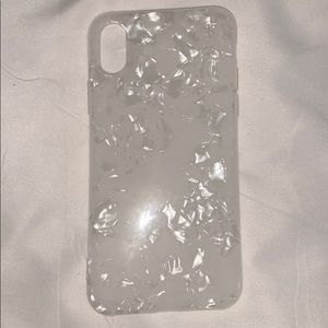 3 for $20....white crystal iphone case